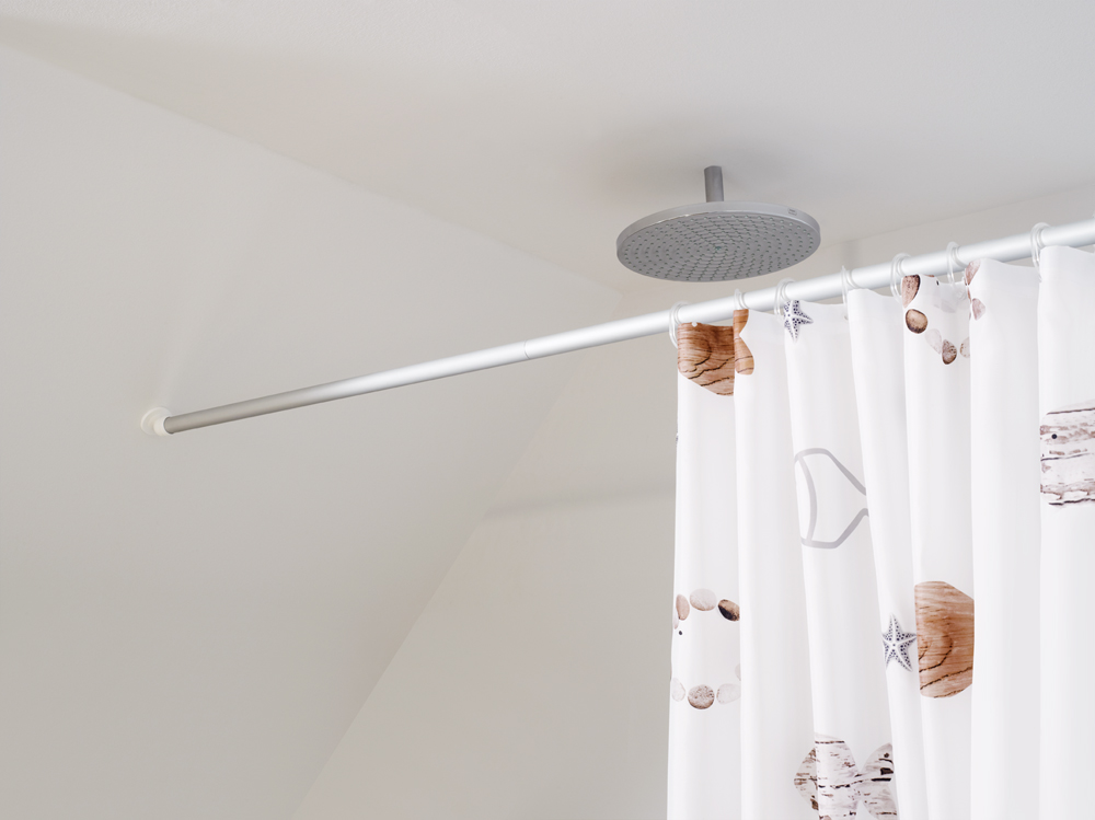 Shower Curtain Equipment Ridder, Shower Curtain With Rings